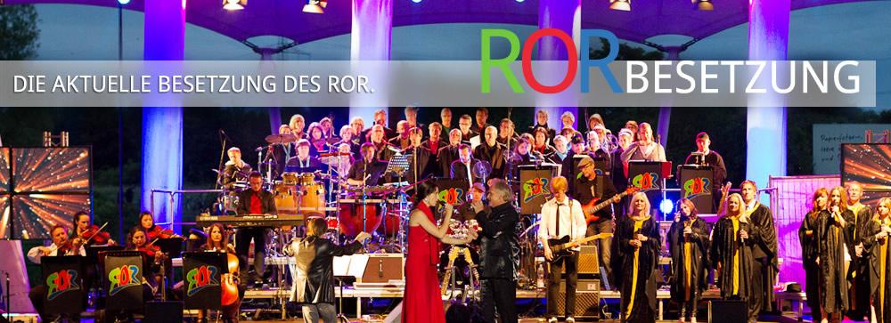 Aktuelle Besetzung des Rockorchester Ruhrgebeat