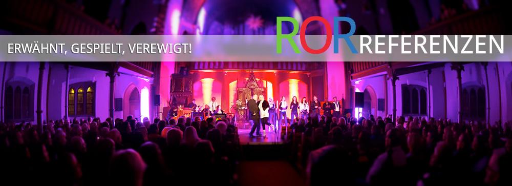 Referenzen des Rockorchester Ruhrgebeat
