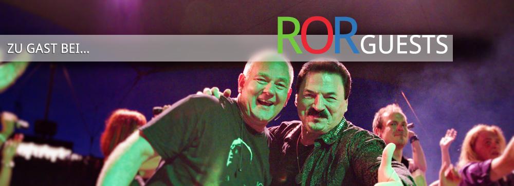 Zu Gast beim ROR: Gastsänger und Bands. Im Bild: Bobby Kimball.