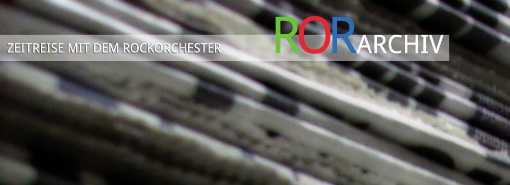 ROR Archiv: Jahresrückblicke und Pressearchiv